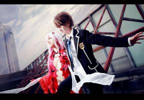 Guilty Crown-Shu and Inori by bai917
