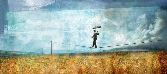 Tightrope by Mikeillustrator