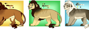 Lions For Sale 3- closed by oCrystal
