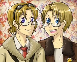 APH: Canada x America by ThePuddingMonster