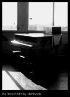 The Piano bw by dnogueira
