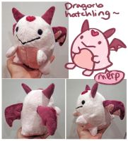 Dragorb plush prototype 2 by scilk