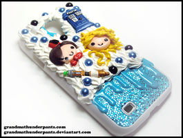 Doctor Who Case by GrandmaThunderpants