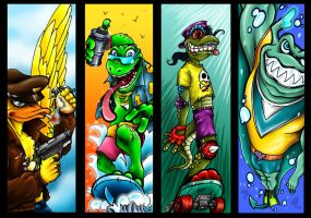 TMNT Allies by Dreekzilla