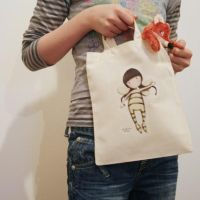 Wee Fairy Child Size Tote Bag by gorjuss