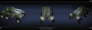 Halo Wars UNSC Cobra by saizarod