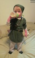 Link Likes Milk by nolwen