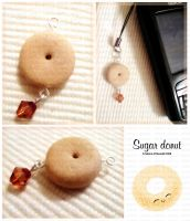 Sugar Donut Cell Strap by ChocoAng3l
