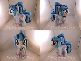 MLP Sonata Dusk Plush (commission) by Little-Broy-Peep