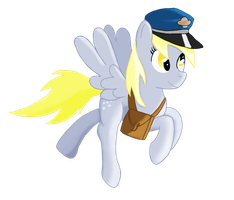 Mail mare derpy by Ailynd