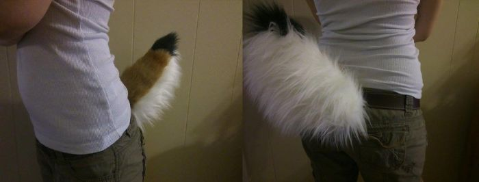 Fawn cosplay tail by Mist-Fang