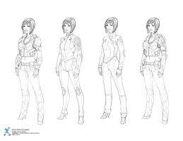 Tutorial Character costume concepts by david-sladek