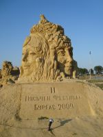 Sand art in burgas 10 by tonev