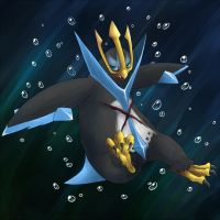 Mumble the Empoleon by MarticusProductions