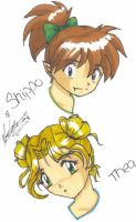 Heads Up 4 Thea and Shippo by Sabre-Jo