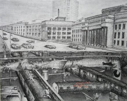 What's Under Union Station? by sersarsor