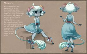 Character Creation Mercury for libbyb212! by painted-bees