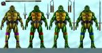 TMNT v2 -Don versions by joshdancato
