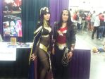 Tharja and Wonder Woman by fireemblemspider