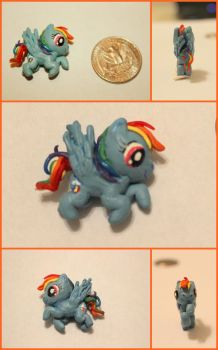 Rainbow Dash Miniature by GirlFromSeven11
