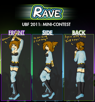 Anisa's UBF Pkmn Rave Outfit by TomoNeko