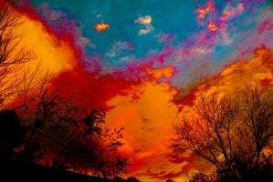 Saturated sky 4-5-13 by Tailgun2009