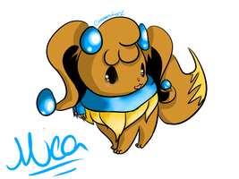 New ID: A Mica Drawing finally by Chaomaster1