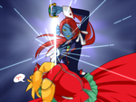 Revolutionary Girl Undyne by ShiniVasyenka