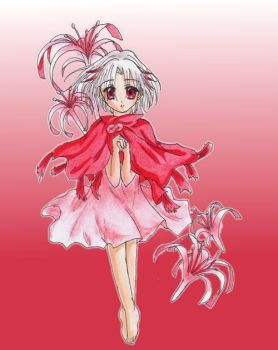Lycoris from .hack by Mew-Sumomo