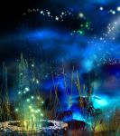 premade  background - the fantasy by L-A-Addams-Art