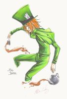 Copic Comm: Mad Hatter by NakuraCalavera