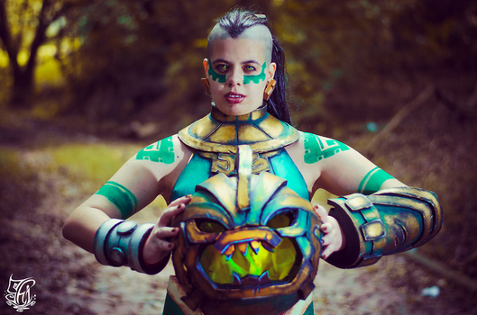 Illaoi- I am here to test souls by ShiVoodoo