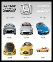 Honda S2000 Icons by MugenB16