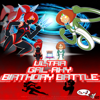 Ultra Gal-Axy Birthday Battle by StretchyGalFan