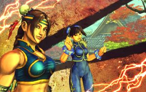 Julia and Ling - SFxT 2 by Anna-Phoenix