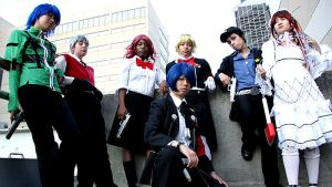 Persona 3:All together by Rare-Dreamer