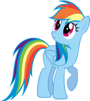 Rainbow Dash, Wat? by Bernd01