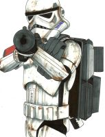 Sandtrooper commission by ragelion