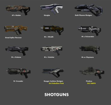 Shotguns by nach77