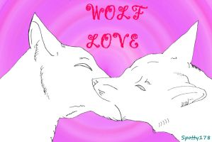 Wolf Kiss by Spotty178