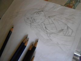 Drawning of Hell Girl ENMA by mogo-chiiiiii