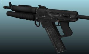 SRG-4 Rifle Texture Update by Artificialproduction