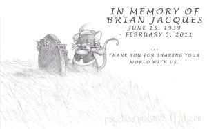 In Memory of Brian Jacques by PsychoAngel51402