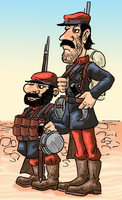 Chilean Soldiers by Shabazik