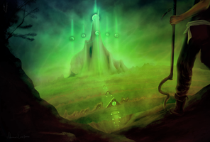 Reptilians land: Expedition - The fifth mountain by lvxferre