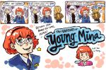 CV: Young Mina (Needs Glasses) by Trillzey