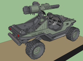 Reach Warthog Update 'WIP' 2 by KayKove