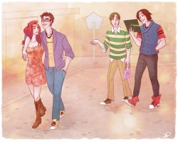Marauders Date Night by RoroZoro