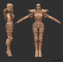 3d girl v0.8 by PabelBilly