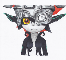 Midna Headshot by BlondestArt